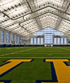 Al Glick Field House Indoor Football Practice Facility, University Of  Michigan By TMP Architecture Inc