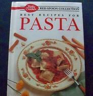 Betty Crocker Red Spoon Collection - Pasta 1990 | Book Resque