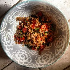 Mediterranean-Style Farro With Roasted Tomatoes