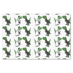 Funny T-rex Dinosaur Wedding Tissue Paper #weddings #dinosaurs #funny #tissuepaper And www.zazzle.com/allsmilesweddings*