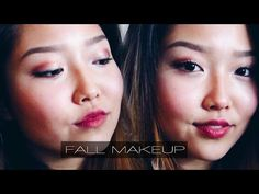 FALL MAKEUP TUTORIAL | DIY Lipstick Fall Makeup Tutorial, Diy Tutorial, Diy Lipstick, Full Face Makeup, Eyeshadow, Beauty, Beleza, Eye Shadows, Eye Shadow