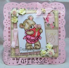 Saffire's Stamping: Conie Fong Facebook Challenge - Bella With Gift