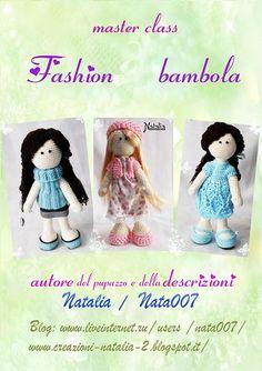 Bambola-Fashion, descrizione ideata da Natalia