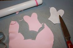 how to make lingerie cupcake toppers