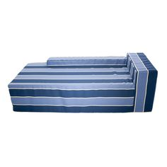 Softblock berry Indoor/Outdoor Foam Chaise (berry Striped Chaise)