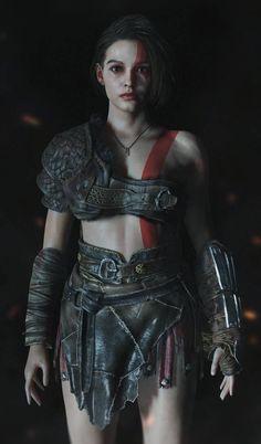 Valentine Resident Evil, Resident Evil Girl, Resident Evil 3 Remake, Fantasy Character Design, Character Art, Figuras Disney Infinity, God Of War Series, Kratos God Of War, Evil Art