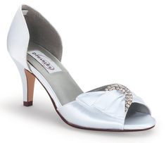 baf26764dae White Dyeables Duchess Bridal Shoes Blue Bridal Shoes