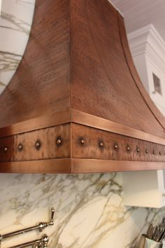 a closer look at our milano copper range hood order online at - Copper Range Hoods