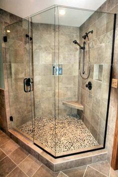 Houzz Tiled Showers | Mequon Custom Tiled Shower modern bathroom