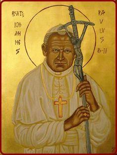 Icône Saint Jean-Paul II