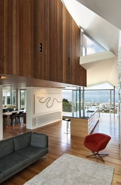 // Seaview House by Parsonson architects. Photos: Paul McCredie