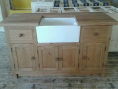 Amazing Freestanding Painted Kitchen Belfast Sink Unit (BBC 01/6) | EBay | Kitchens  | Pinterest | Sink Units, Belfast Sink And Belfast