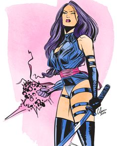 Psylocke has always been one of my favorite X-men! Can't wait to see her on the…