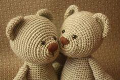 Classical Teddy Bear Crochet Pattern - Amigurumi Teddy Bear Tutorial - Downloadable Crochet Tutorial