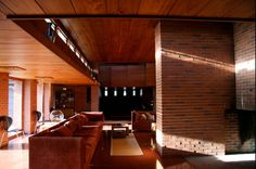 I love the History of Frank Loyd Wright, and his designs!! He was so inventive and before his time on his designs! I love how he captured the outdoors inside! I love wood tones!
