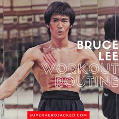 Bruce Lee Workout Routine and Diet Plan: Train like a Martial Arts Master – Superhero Jacked Muscle Fitness, Fitness Tips, Fitness Exercises, Yoga Fitness, Bruce Lee Workout, Straight Leg Deadlift, Superhero Workout, Weight Training Programs, Endurance Training