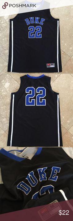 "Nike Duke jersey New Nike ""Team"" Duke basketball jersey #22. Thanks! ‼️🍾 Nike Shirts Tank Tops"