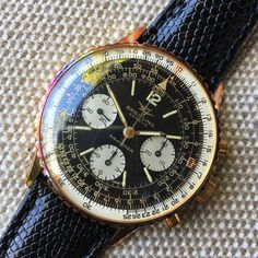 "FS: Breitling 806 Navitimer Gold Plated 806 ""New Old Stock"" *PIC*"