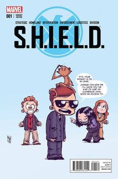 In The First SHIELD Comic, Coulson and Crew Meet All the Marvel Heroes