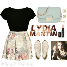 Lydia martin style, very classic ❤