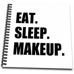 Amazon.com - InspirationzStore Eat Sleep series - Eat Sleep Makeup -... ($21) ❤ liked on Polyvore featuring beauty products and makeup