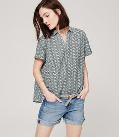 Thumbnail Image of Primary Image of Floral Swing Shirt