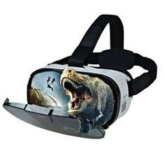 FIIT VR 3D Virtual Reality Glasses 102 Degrees FOV Helmet Light Weight Ergonomic Design #virtualreality