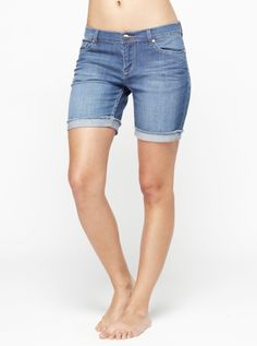 Long Trippers Long Shorts - Roxy. Why is it so hard to find shorts that don't look like a bikini bottom?? Love these :-)
