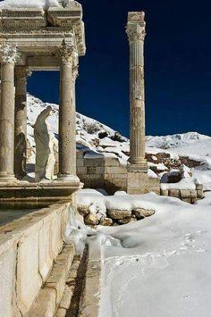 Sagalassos in the Taurus Mountains of Turkey.