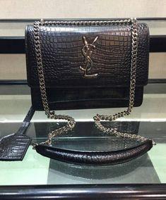 d7e13404fa Replica Saint Laurent Sunset Embossed leather shoulder bag  3928 2