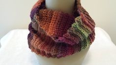Cowl Infinity Crocheted Scarf by softtotouch on Etsy, $25.00