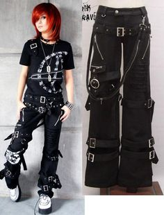 I found 'Lolita Kera VISUAL KEI PUNK GOTHIC Pants skirt EMO' on Wish, check it out!