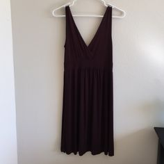 Stretchy Chocolate Brown Beach Cover-Up Dress Size Medium. Super comfy & stretchy. Not VS. Purchased from a boutique in Phuket, Thailand. Victoria's Secret Dresses