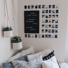 This Minimalist Dorm Room Makeover Is Absolutely Beautiful . Minimalist Dorm Decorating Ideas Along With Compact . 20 College Dorm Room Ideas To Channel Your Inner . Home and Family Cute Room Decor, Diy Room Ideas, Picture Room Decor, Cheap Room Decor, Photo Wall Decor, Photo Room, Photo Mural, Minimalist Dorm, Home Decor Ideas