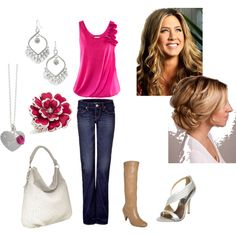 A night out with the Girls! Created by me on Polyvore!