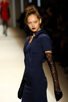 New York Fashion Week: Georges Chakra Fall 2010 Photo 2