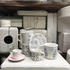 Minka, Mugs, Tableware, Home, Art, Ceramic Workshop, Art Background, Dinnerware, Cups