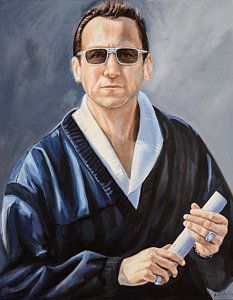 Al Davis- Owner Oakland / Los Angeles Raiders by Angela Villegas Oakland Raiders Wallpapers, Oakland Raiders Images, Nfl Oakland Raiders, Raiders Fans, Al Davis, Football Art, Raider Nation, Sports Art, Art Pages