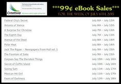 J.M. Northup: 99¢ eBooks from Creativia as of July 12, 2015!