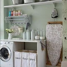 traditional laundry room laundry