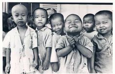 1971 GoVap Orphanage Saigon Vietnam Children