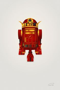 New in the Shop: R2-D2 Mashed Up with Superheroes by Steve Berrington - My Modern Met