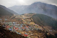 Namche Bazaar   22 Everest Base Camp Photos That Will Make You Want To Go Trekking in Nepal!   http://wanderingon.com
