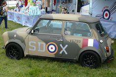 Camo Mini Cooper | MINI Art Cars | MINI | Mini Cooper | Dream Car | Miniac | Art | custom MINI cooper | custom car | Schomp MINI