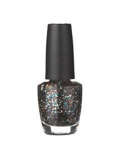 The longer your nails, the bigger the glitter can get, so you need some length when trying the confetti-size sparkle in OPI Nail Lacquer in The Living Daylights. Layer it over taupe for a Saturday night—the neutral base tones down the colorful shine so your nails don't look like a kid's craft project.