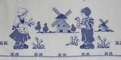 Cross Stitching, Cross Stitch Embroidery, Cross Stitch Patterns, Vintage Embroidery, Embroidery Patterns, Small Cross Stitch, Plastic Canvas Crafts, Delft, Le Point