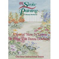 """Amazon.com: One Stroke Painting - A Special """"How to"""" Lesson at home with Donna Dewberry: Donna Dewberry: Movies & TV"""