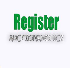 Register To Sell On Auctionaholics