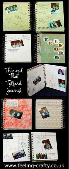 Telford This and That Travel and Special Event Journal / Smash Book by Stampin Up! Demonstrator Bekka Prideaux - get lots of ideas for your journals and smash books on her blog