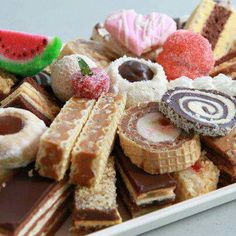 Traditional Croatian cakes from the Slavonijan regions                                                                                                                                                                                 More